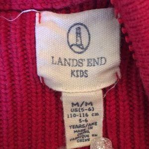 Lands' End Shirts & Tops - Lands' End zip up sweater
